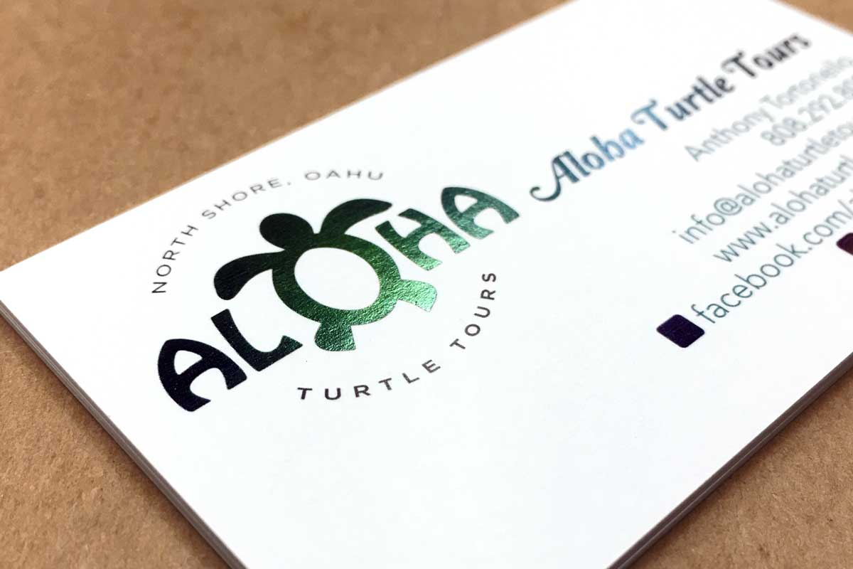 Aloha Turtle Tours business card 2017-02